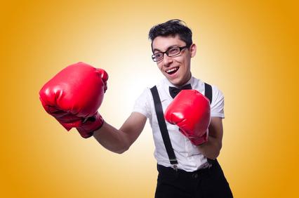 ボクシングによる顎のズレ