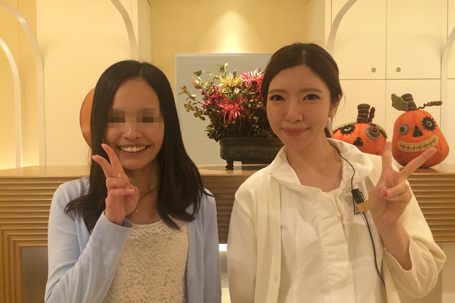 渋谷区会社勤務20代女性YY様
