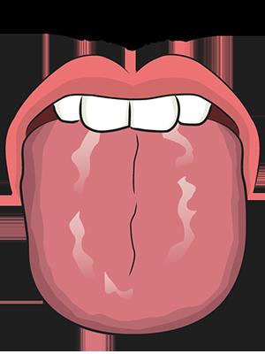 暗紅舌滑苔