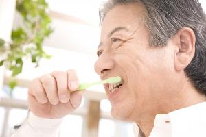 歯のブラッシング